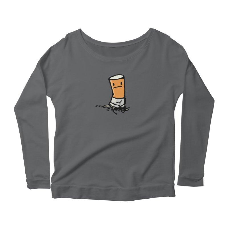 I quit Women's Scoop Neck Longsleeve T-Shirt by stumpytown