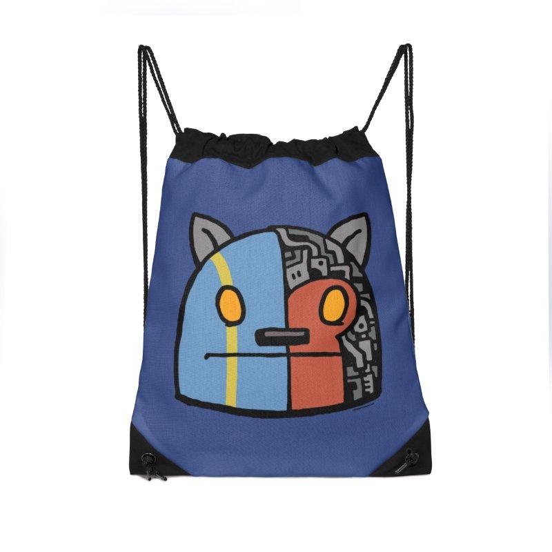 Katkaider Accessories Drawstring Bag Bag by stumpytown