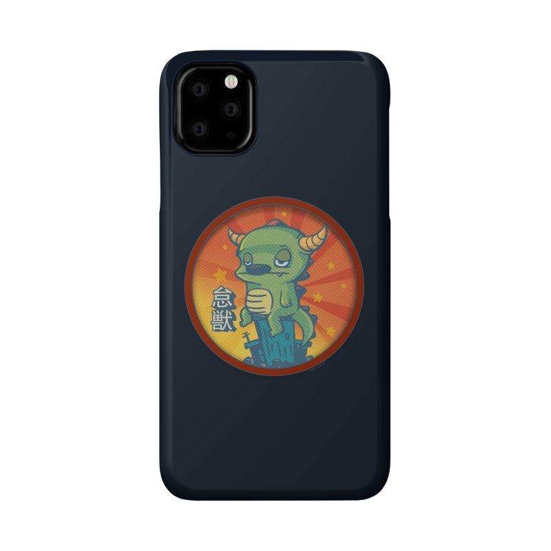 Lazy Kaiju Accessories Phone Case by stumpytown