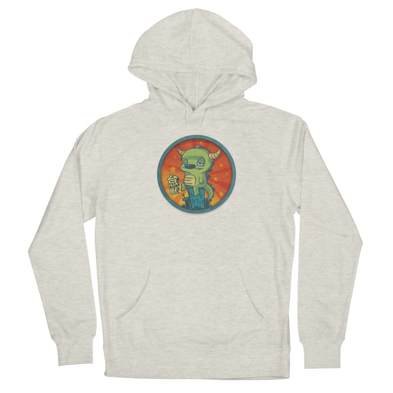 Lazy Kaiju Women's French Terry Pullover Hoody by stumpytown