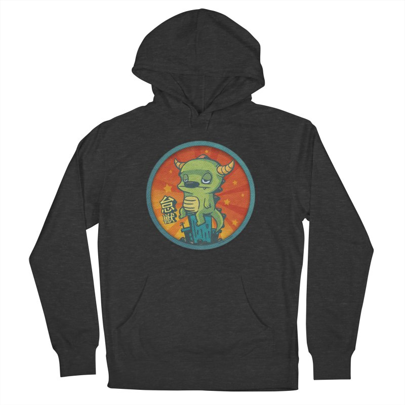 Lazy Kaiju Men's French Terry Pullover Hoody by stumpytown