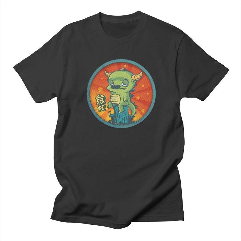 Lazy Kaiju Men's Regular T-Shirt by stumpytown