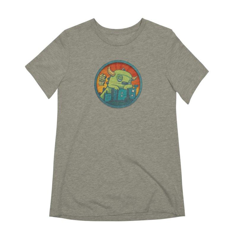 Lazy Kaiju.  Maybe tomorrow. Women's Extra Soft T-Shirt by stumpytown