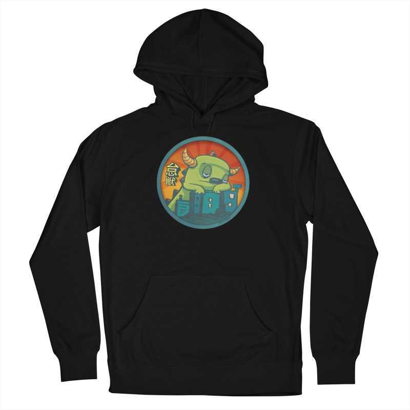 Lazy Kaiju.  Maybe tomorrow. Women's French Terry Pullover Hoody by stumpytown
