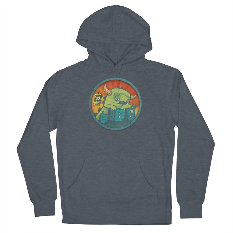 Lazy Kaiju.  Maybe tomorrow. Men's French Terry Pullover Hoody by stumpytown