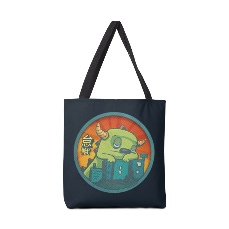 Lazy Kaiju.  Maybe tomorrow. Accessories Tote Bag Bag by stumpytown