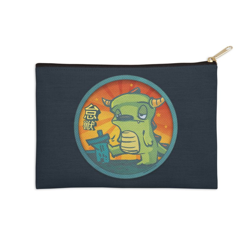 Lazy Kaiju. I'm done for the day. Accessories Zip Pouch by stumpytown
