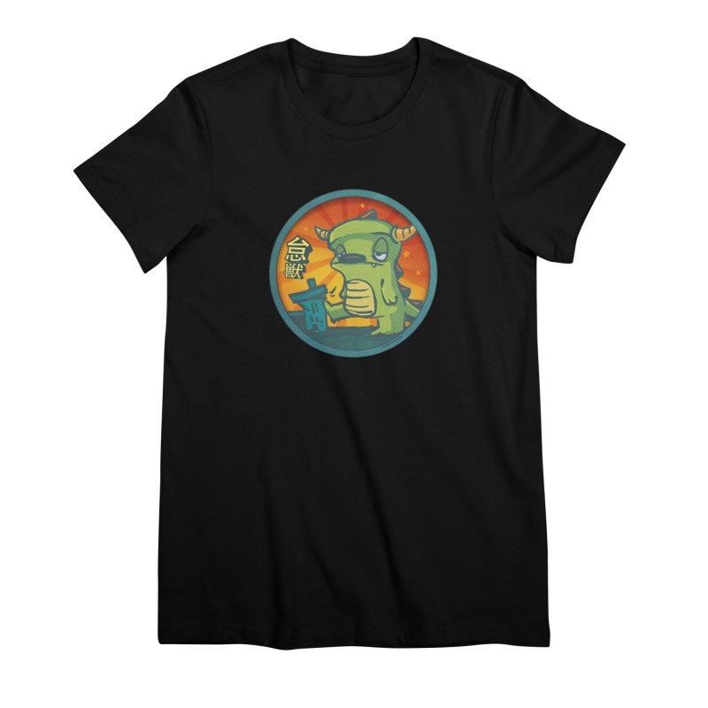 Lazy Kaiju. I'm done for the day. Women's Premium T-Shirt by stumpytown
