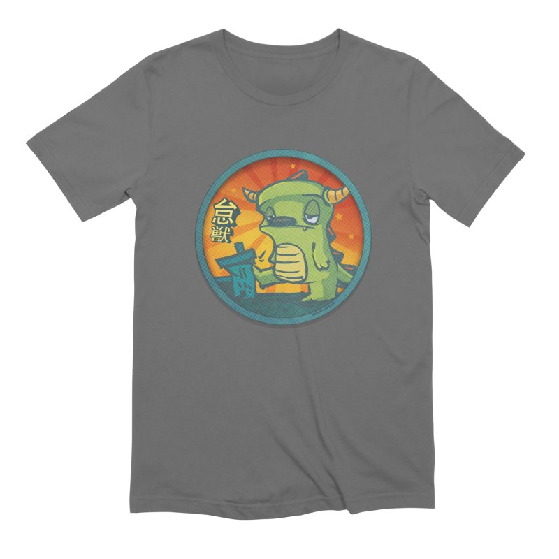 Lazy Kaiju. I'm done for the day. Men's Extra Soft T-Shirt by stumpytown