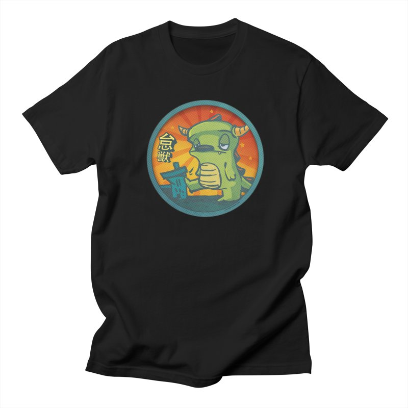 Lazy Kaiju. I'm done for the day. Women's Regular Unisex T-Shirt by stumpytown