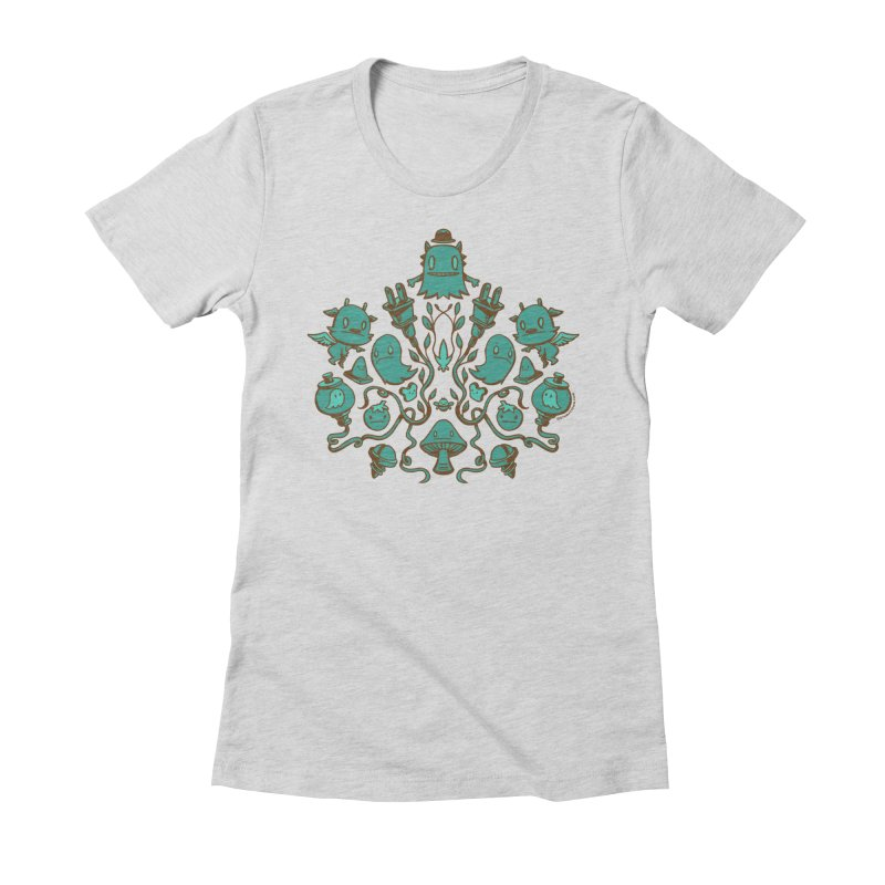 HodgePodge Women's Fitted T-Shirt by stumpytown