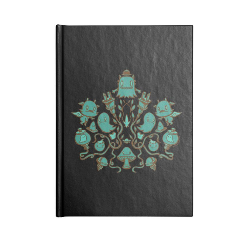 HodgePodge Accessories Blank Journal Notebook by stumpytown