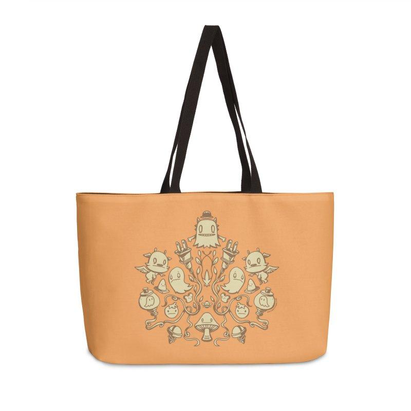 HodgePodge 2 Accessories Weekender Bag Bag by stumpytown