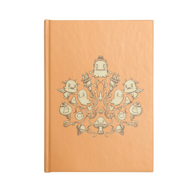 HodgePodge 2 Accessories Blank Journal Notebook by stumpytown