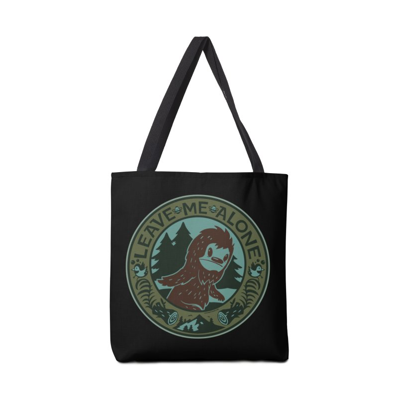 Leave Me Alone Accessories Tote Bag Bag by stumpytown