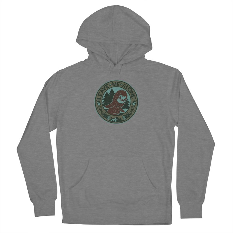 Leave Me Alone Men's French Terry Pullover Hoody by stumpytown