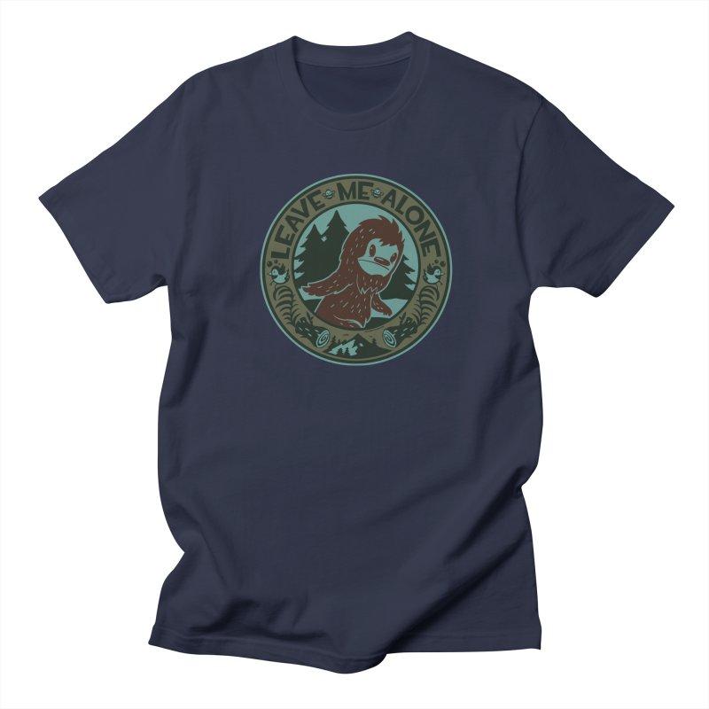 Leave Me Alone Men's Regular T-Shirt by stumpytown