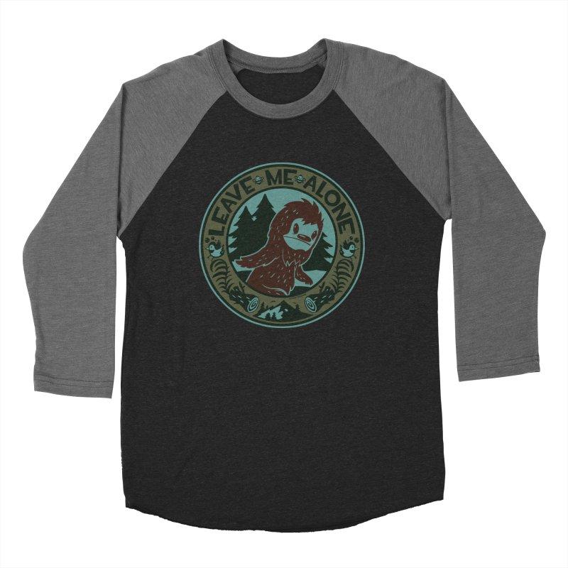 Leave Me Alone Women's Baseball Triblend Longsleeve T-Shirt by stumpytown