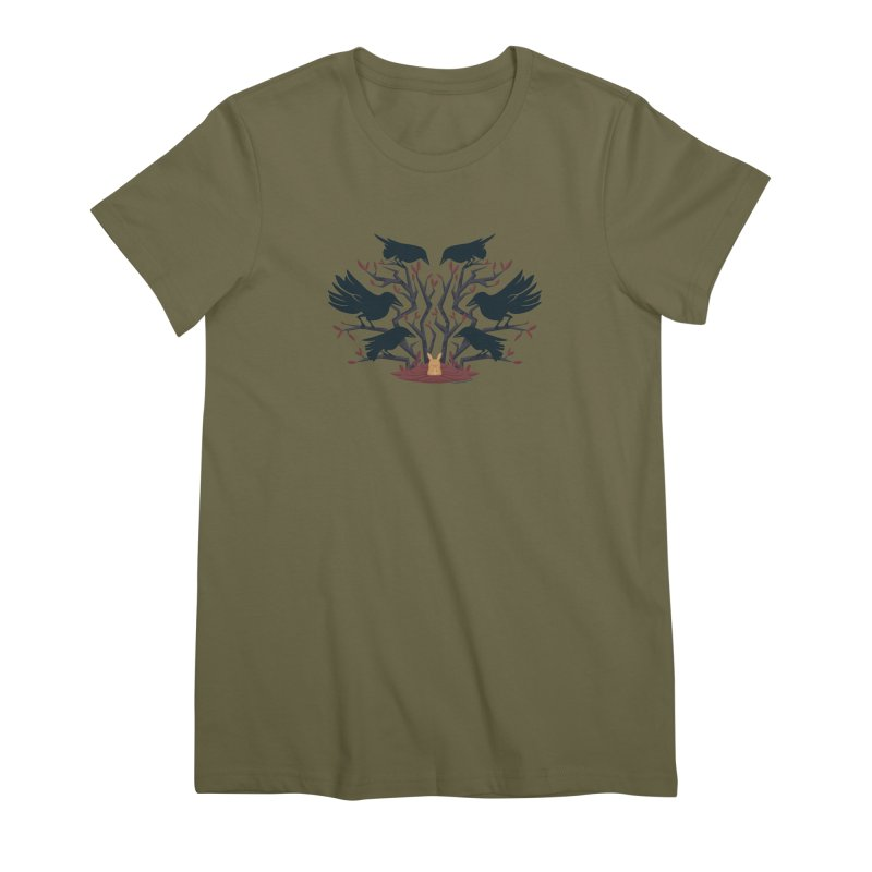 Give Up the Ghost Women's Premium T-Shirt by stumpytown