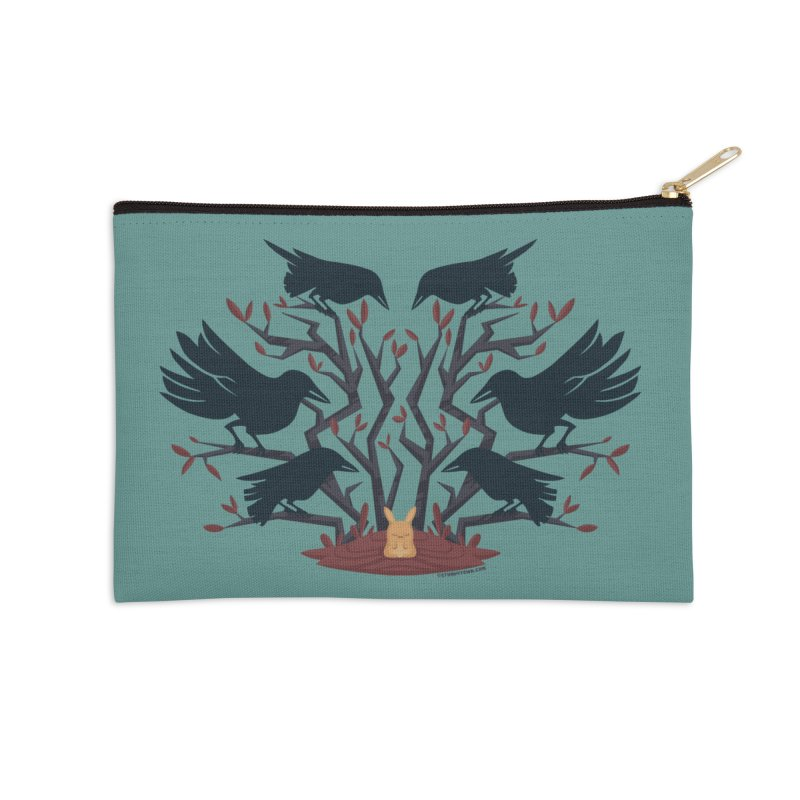 Give Up the Ghost in Zip Pouch by stumpytown