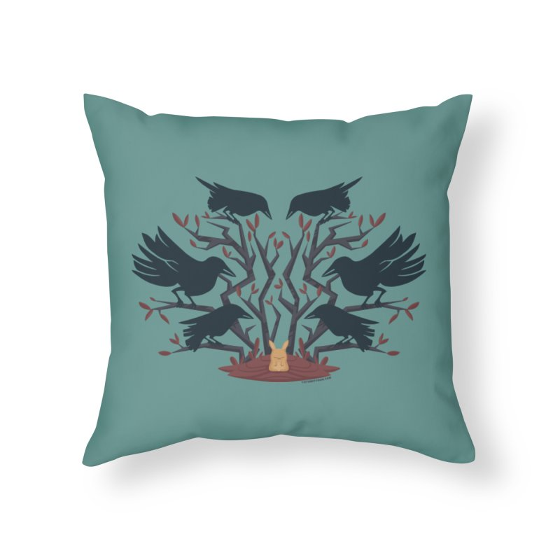 Give Up the Ghost Home Throw Pillow by stumpytown