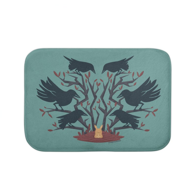 Give Up the Ghost Home Bath Mat by stumpytown