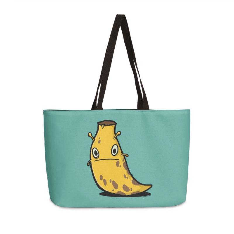 Overripe Banana Slug Accessories Weekender Bag Bag by stumpytown