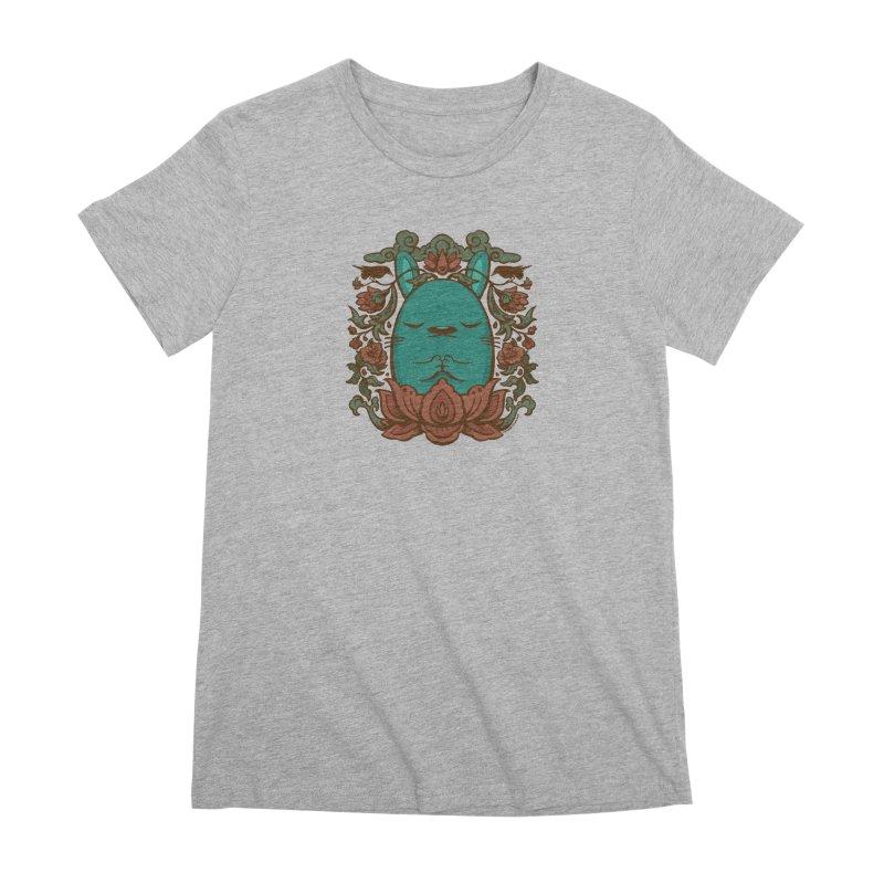 Namaste Women's Premium T-Shirt by stumpytown