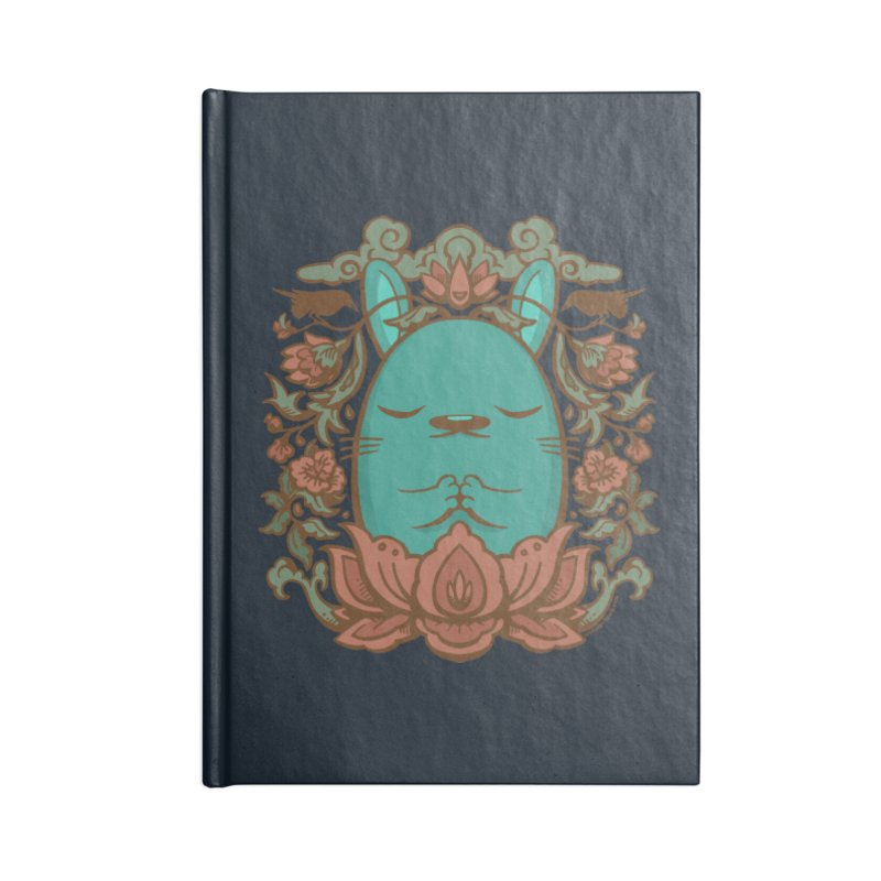 Namaste Accessories Lined Journal Notebook by stumpytown