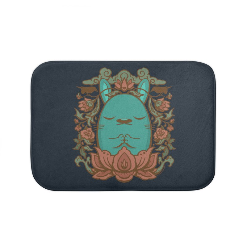 Namaste Home Bath Mat by stumpytown
