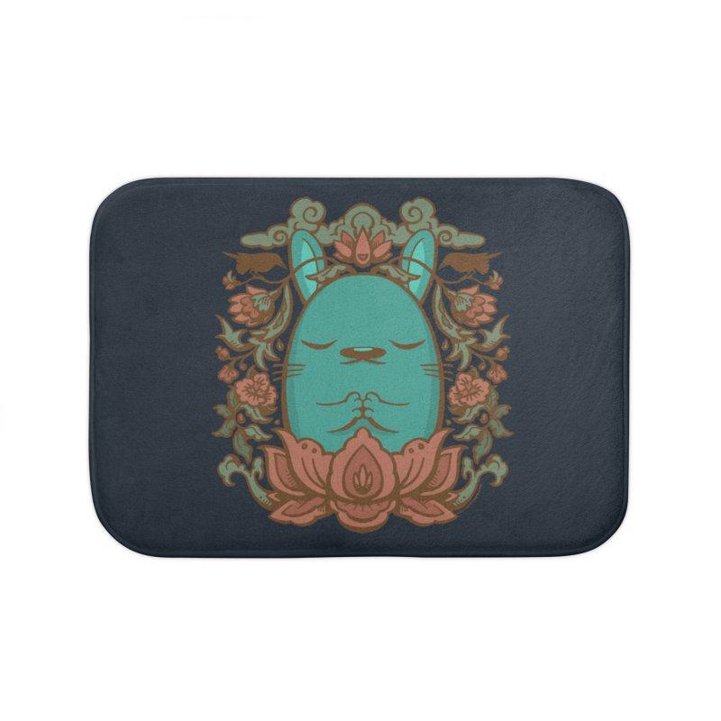 Namaste Home Bath Mat by stumpytown