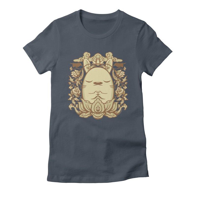 Namaste 2 Women's Fitted T-Shirt by stumpytown