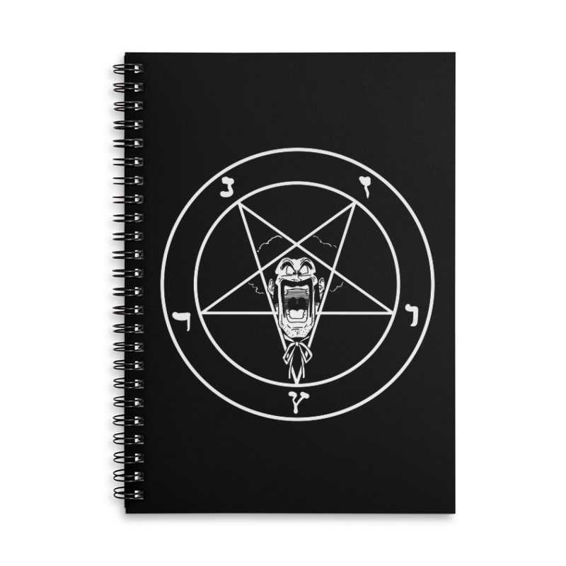 Hail Mr. Satan Accessories Lined Spiral Notebook by itty biity shitties