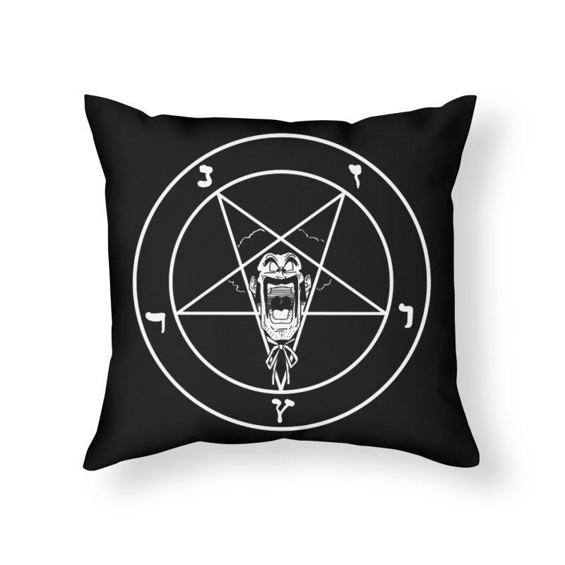 Hail Mr. Satan Home Throw Pillow by itty biity shitties