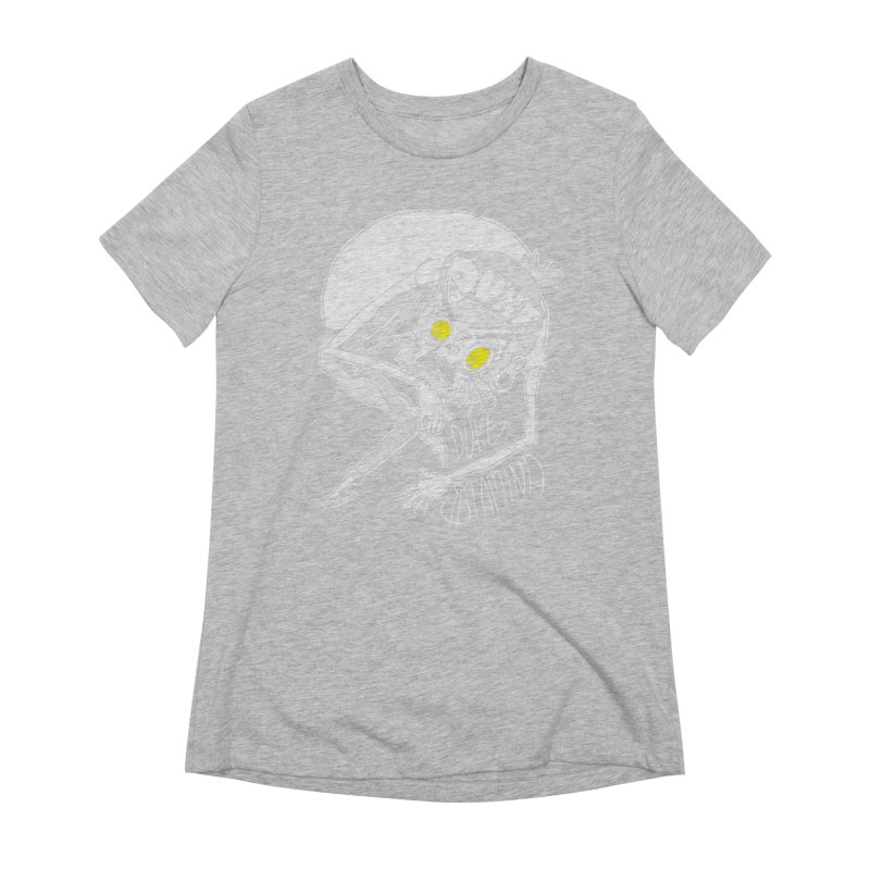 Aggro-Cat Women's Extra Soft T-Shirt by itty biity shitties