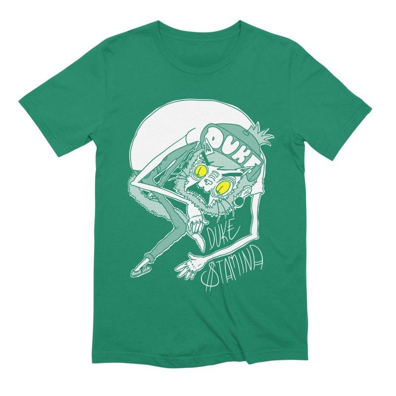 Aggro-Cat Men's Extra Soft T-Shirt by itty biity shitties