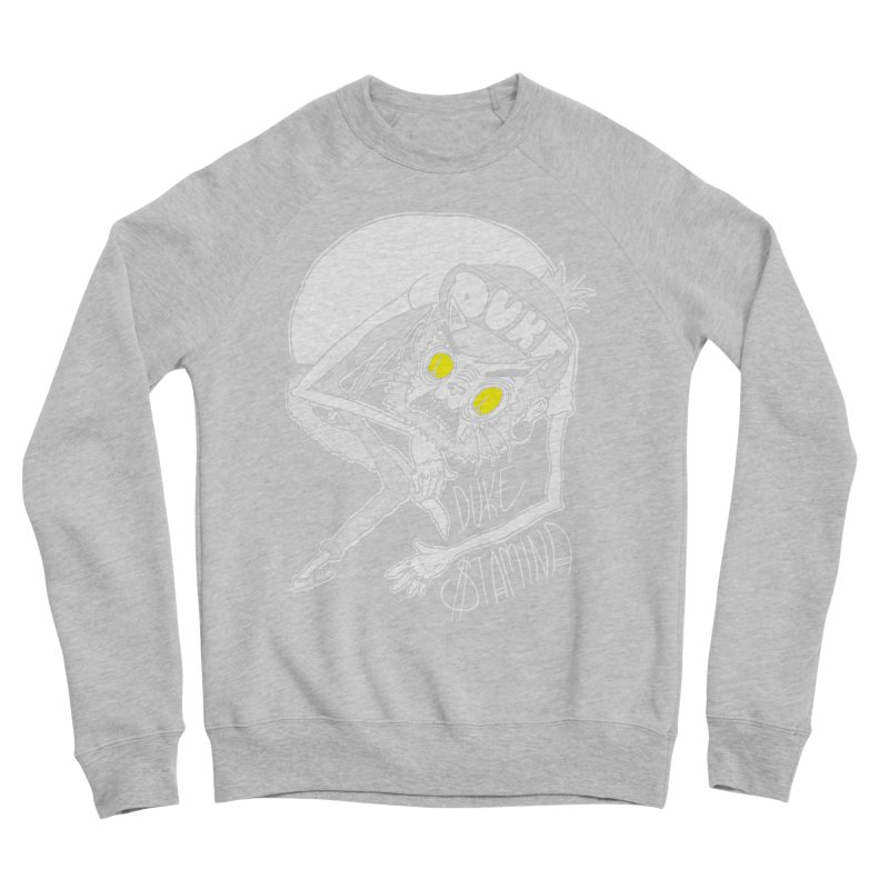 Aggro-Cat Women's Sponge Fleece Sweatshirt by itty biity shitties