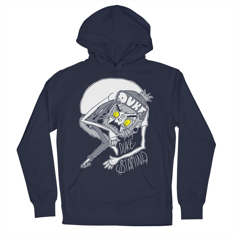 Aggro-Cat Men's French Terry Pullover Hoody by itty biity shitties