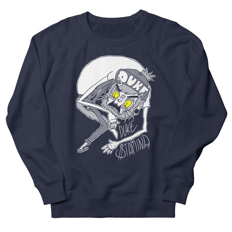 Aggro-Cat Men's French Terry Sweatshirt by itty biity shitties