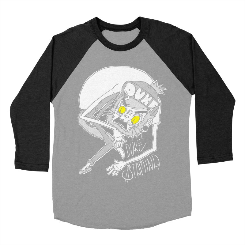 Aggro-Cat Women's Baseball Triblend Longsleeve T-Shirt by itty biity shitties