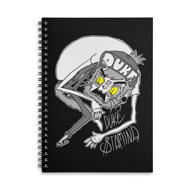 Aggro-Cat Accessories Lined Spiral Notebook by itty biity shitties
