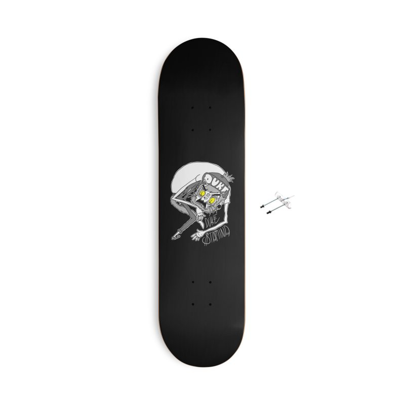 Aggro-Cat Accessories With Hanging Hardware Skateboard by itty biity shitties