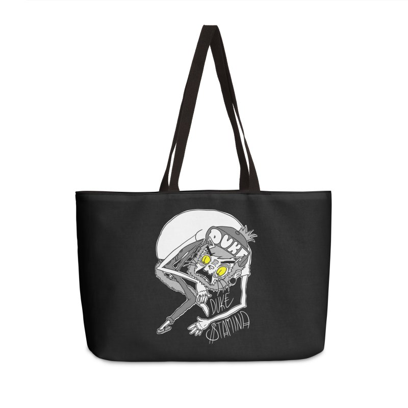 Aggro-Cat Accessories Weekender Bag Bag by itty biity shitties