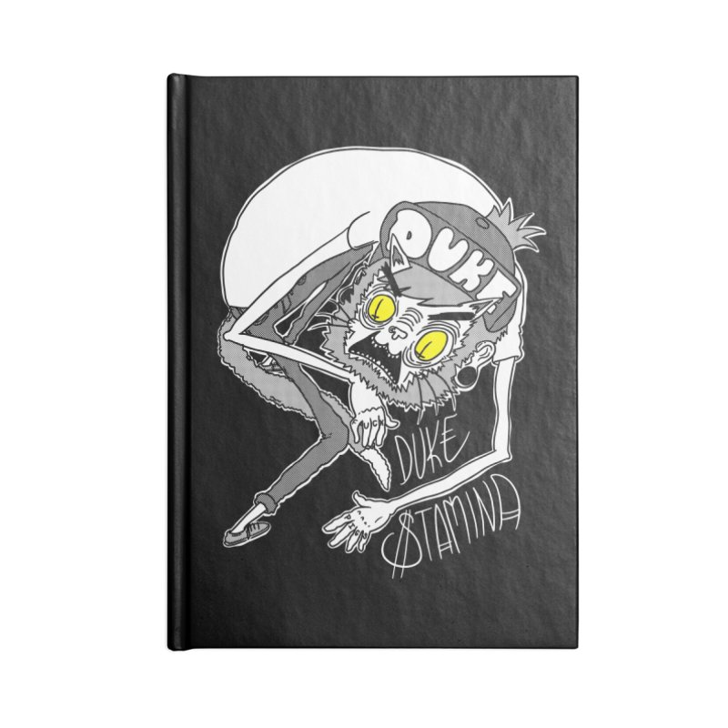 Aggro-Cat Accessories Blank Journal Notebook by itty biity shitties
