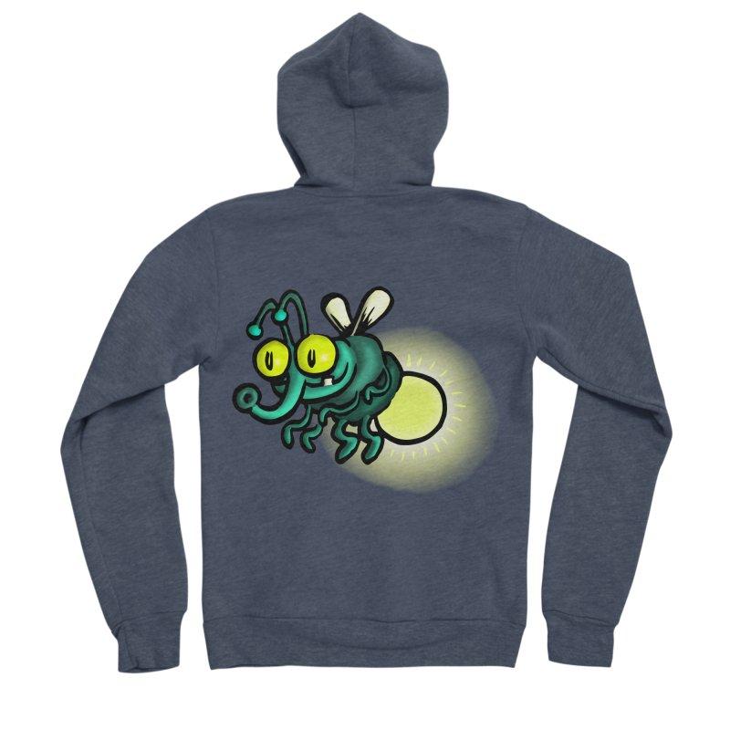 SQUIRMISH: Shiny Heinie Men's Sponge Fleece Zip-Up Hoody by STWALLSKULL's Shirt Shack