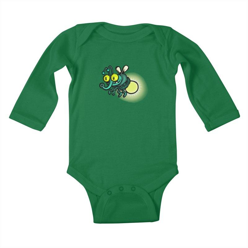 SQUIRMISH: Shiny Heinie Kids Baby Longsleeve Bodysuit by STWALLSKULL's Shirt Shack