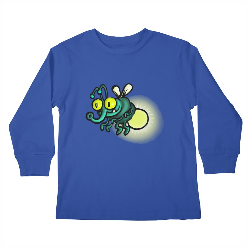 SQUIRMISH: Shiny Heinie Kids Longsleeve T-Shirt by STWALLSKULL's Shirt Shack