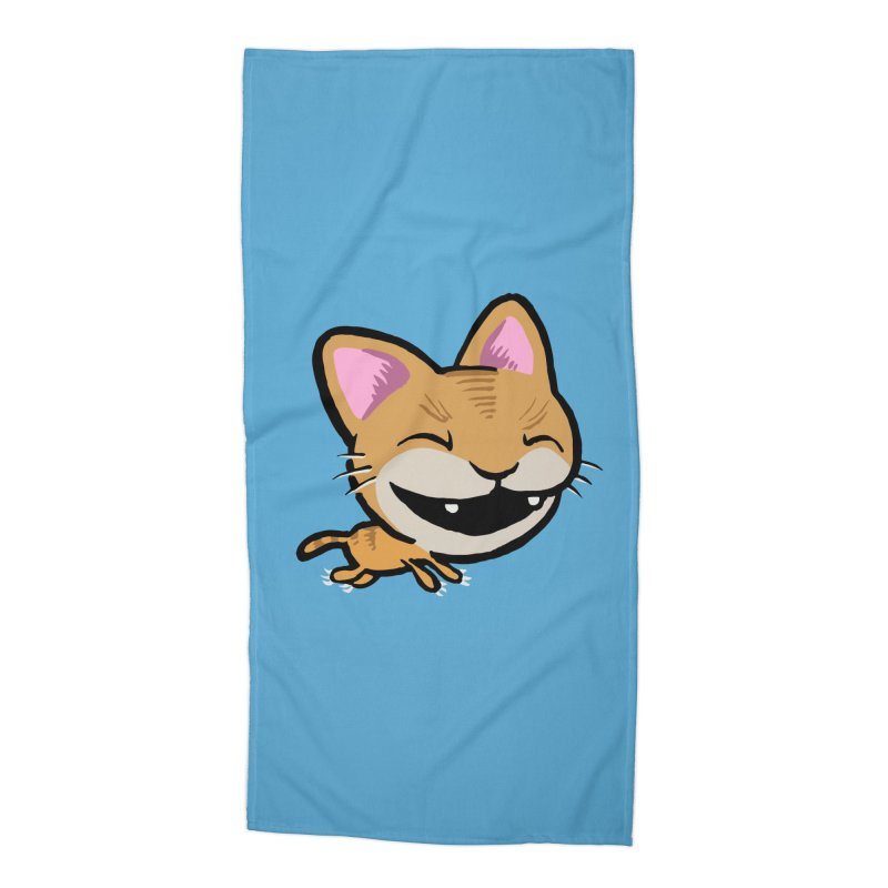 Kittastrophe Accessories Beach Towel by STWALLSKULL's Shirt Shack