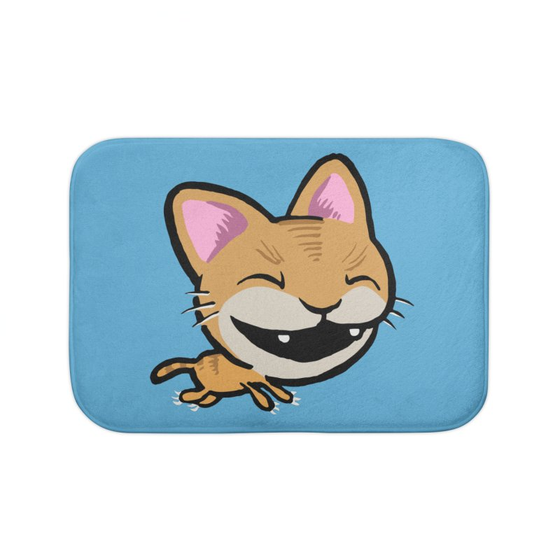 Kittastrophe Home Bath Mat by STWALLSKULL's Shirt Shack
