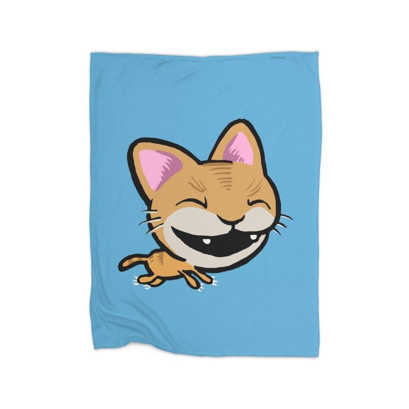 Kittastrophe Home Blanket by STWALLSKULL's Shirt Shack